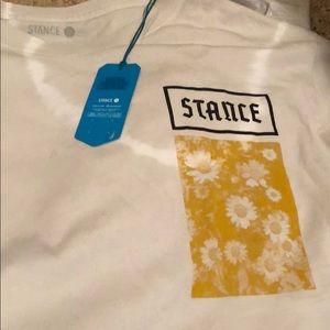Brand new Stance long sleeve t shirt.